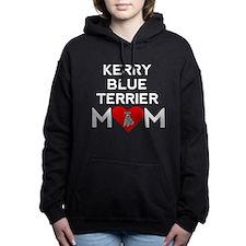Kerry Blue Terrier Mom Women's Hooded Sweatshirt