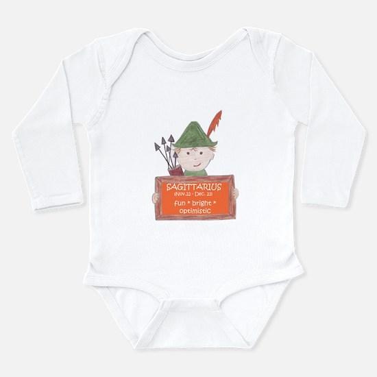 Sagittarius Sign for Boy Infant Bodysuit Body Suit
