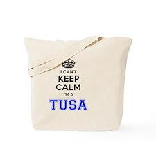 Funny Calm Tote Bag