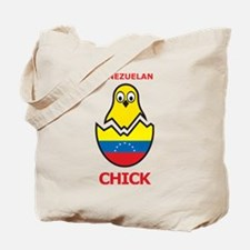 Venezuelan Chick Tote Bag