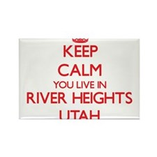Keep calm you live in River Heights Utah Magnets