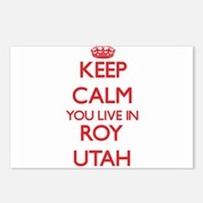 Keep calm you live in Roy Postcards (Package of 8)