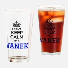 Cute Vanek Drinking Glass