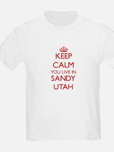 Keep calm you live in Sandy Utah T-Shirt