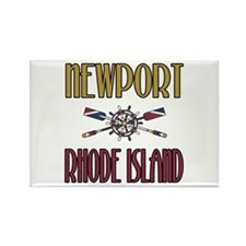 Newport RI Rectangle Magnet
