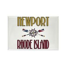 Newport RI Rectangle Magnet