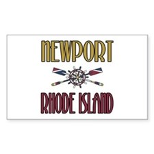 Newport RI Rectangle Decal
