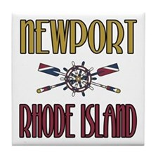 Newport RI Tile Coaster