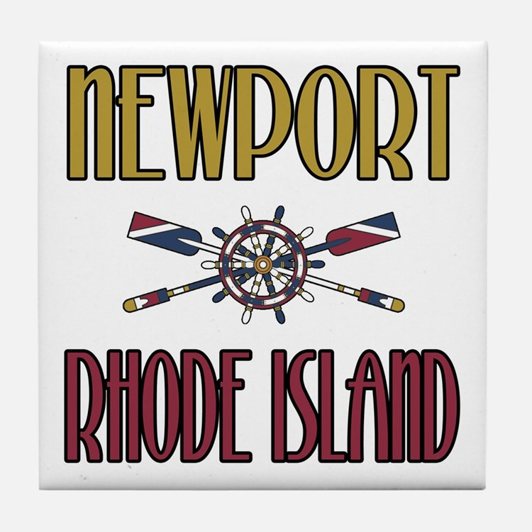 Newport RI Tile Coaster