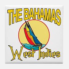 The Bahamas Tile Coaster