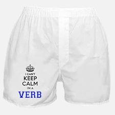Cute Verbs Boxer Shorts