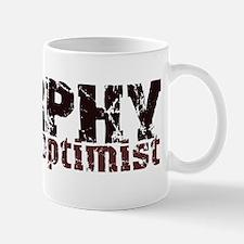 Grunge Optimist Mug