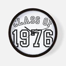 Class of 1976 Wall Clock