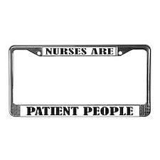 Nurses Are License Plate Frame