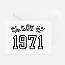 Class of 1971 Greeting Cards (Pk of 10)
