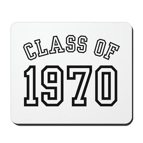 Class of 1970 Mousepad