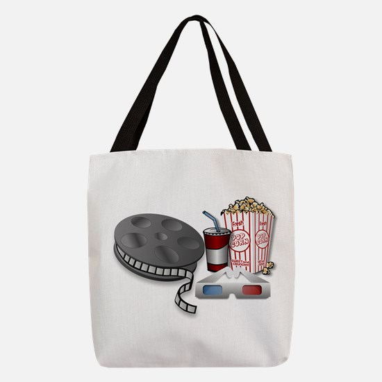 3D Cinema Polyester Tote Bag