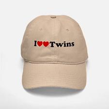 I Heart Twins Baseball Baseball Cap