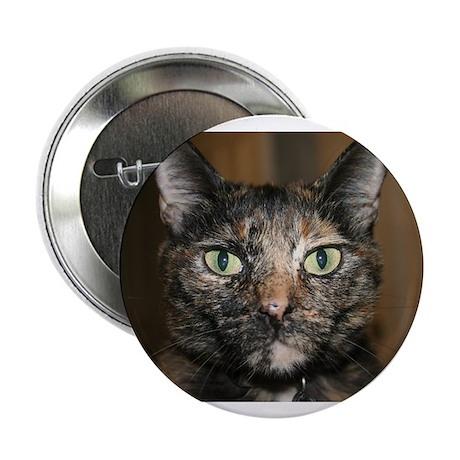 "Tortoiseshell Cat 2.25"" Button (100 pack)"