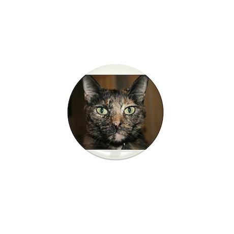 Tortoiseshell Cat Mini Button (100 pack)