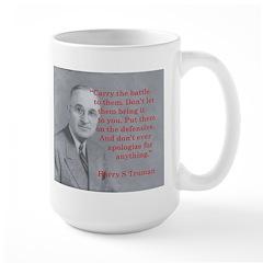 Large Mug: Harry Truman
