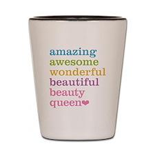 Beauty Queen Shot Glass