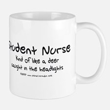 Deer in Headlights Student Nurse Mug
