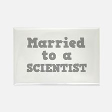 Married to a Scientist Rectangle Magnet