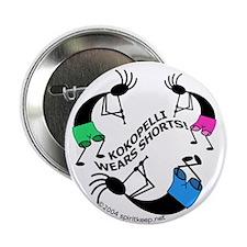 Kokopelli Wears Shorts #1 Button (100 pk)