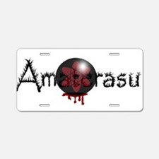 Amaterasu Aluminum License Plate