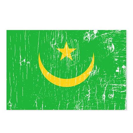 Vintage Mauritania Postcards (Package of 8)