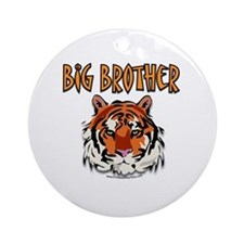 Big Brother Tiger Ornament (Round)