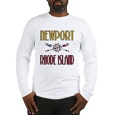 Newport RI Long Sleeve T-Shirt