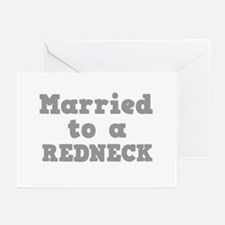 Married to a Redneck Greeting Cards (Pk of 10)