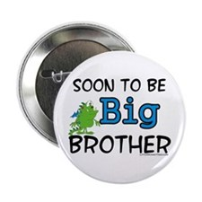 Soon to be big brother Button