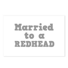 Married to a Redhead Postcards (Package of 8)