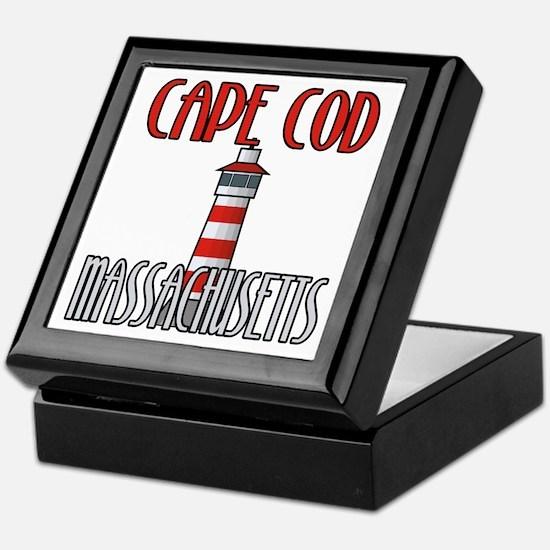 Cape Cod MA Keepsake Box