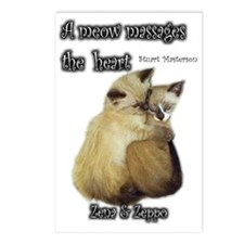Meow Massage Postcards (Package of 8)