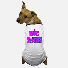 Big sister pink purple Dog T-Shirt