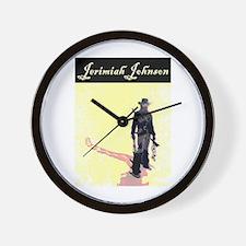 "JERIMIAH ""MOUNTAIN MAN"" JOHNSON Wall Clock"