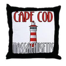 Cape Cod MA Throw Pillow