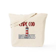 Cape Cod MA Tote Bag