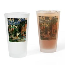 Sergiev Posad, artwork by Lentulov Drinking Glass