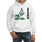 Arkansas Freemasons Hooded Sweatshirt