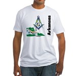 Arkansas Freemasons Fitted T-Shirt