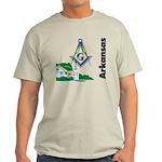 Arkansas Freemasons Light T-Shirt
