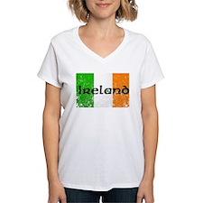 Ireland Flag Distressed Look Shirt