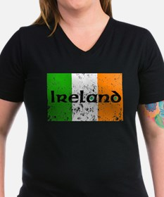 Ireland Flag Distressed Look Shirt
