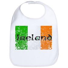Ireland Flag Distressed Look Bib