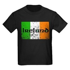 Ireland Flag Distressed Look T
